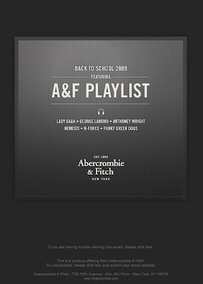 Click to view this July 21, 2009 Abercrombie & Fitch email full-sized