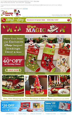 Click to view this Nov. 17, 2009 Disney email full-sized