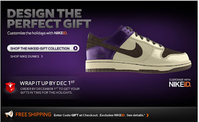 Click to view this Nov. 19, 2009 Nike email full-sized