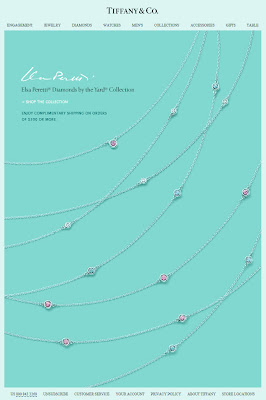 Click to view this June 22, 2010 Tiffany & Co. email full-sized