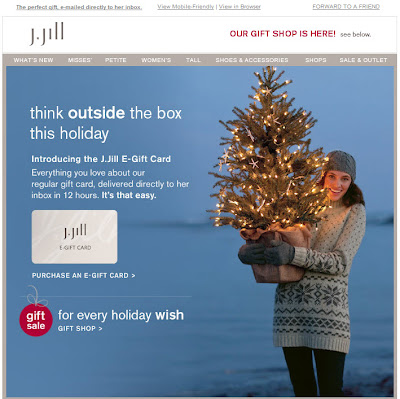 Click to view this Nov. 23, 2010 J. Jill email full-sized