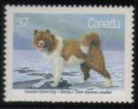 1988年カナダ エスキモー犬の切手