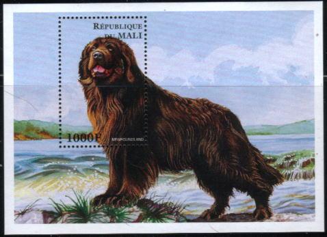 1996年マリ共和国 ニューファンドランドの切手シート