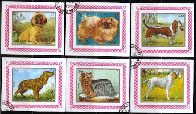1972年シャルジャー 犬種不明 チベタン・テリア バセット・ハウンド コッカー・スパニエル ヨークシャー・テリア グリフォンのデラックスシート