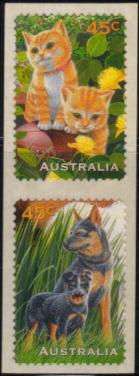 1996年オーストラリア オーストラリアン・キャトルドッグの切手