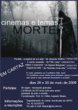 CARTAZ DO CICLO DE FILMES SOBRE A MORTE