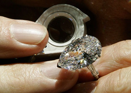 The world's most expensive ring is valued at $16.26 million, enough