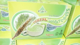cereal made from Wheat grass