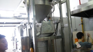 machine to filter and produce the rice water