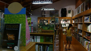 Picture of a bookshop within Orchidville