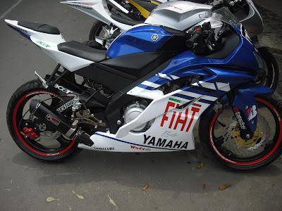 Modifikasi Knalpot Yamaha Vixion