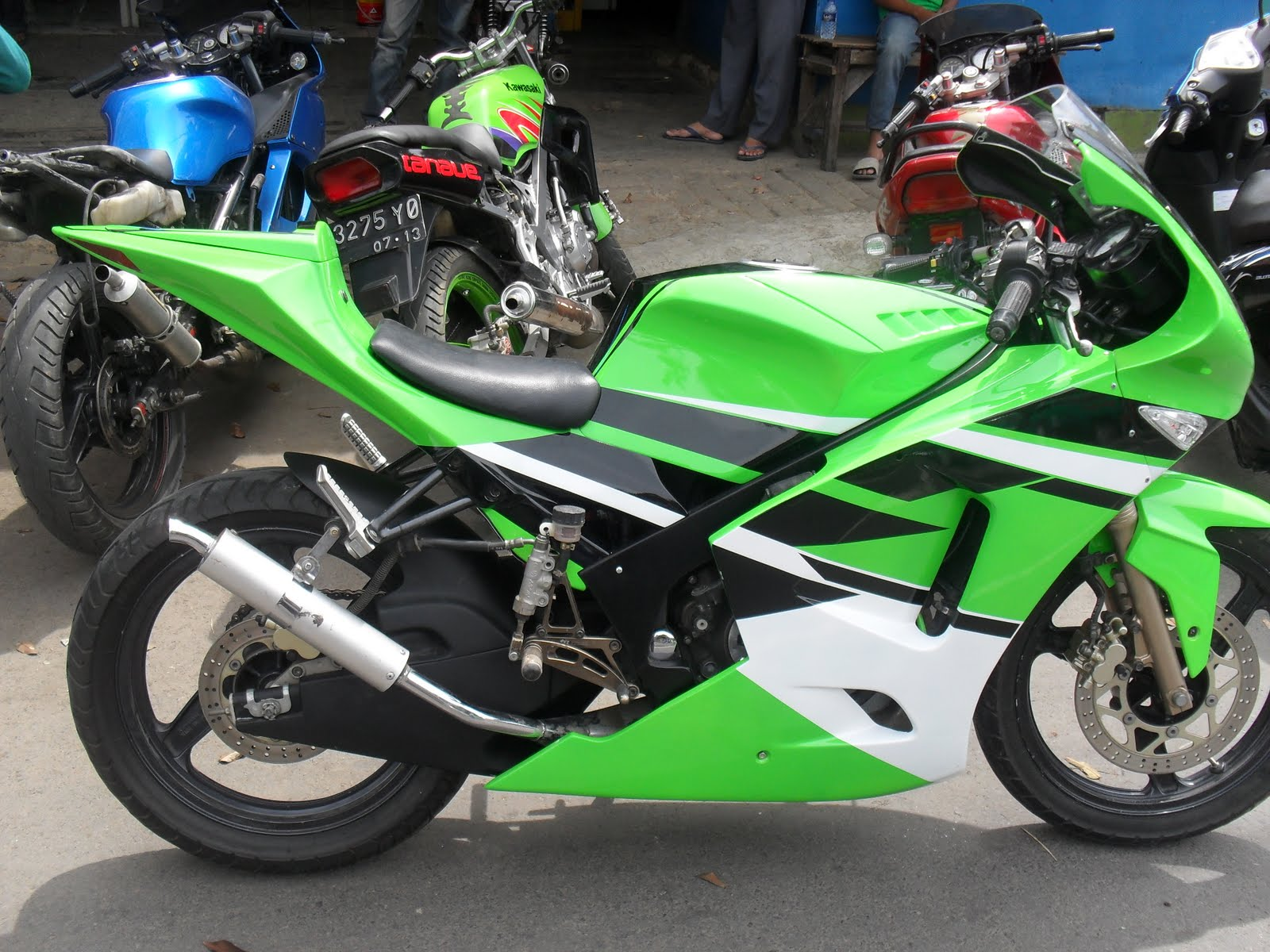 Image of Ninja Rr 250 Modif