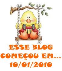 Aniversário do Blog...