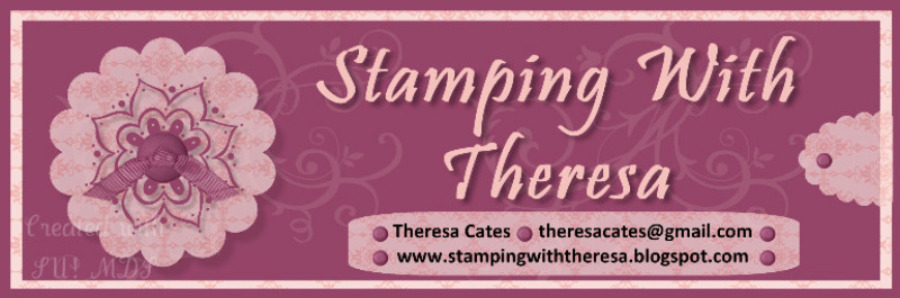 Stamping with Theresa