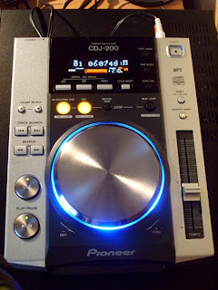 Máy DJ Pioneer CDJ-200 Pro Cd/ Mp3 Player