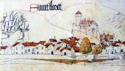 Le village au XII et XIIIème siècle