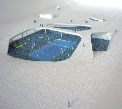 Open Air swimming Pool Oostduinkerke | World Architecture