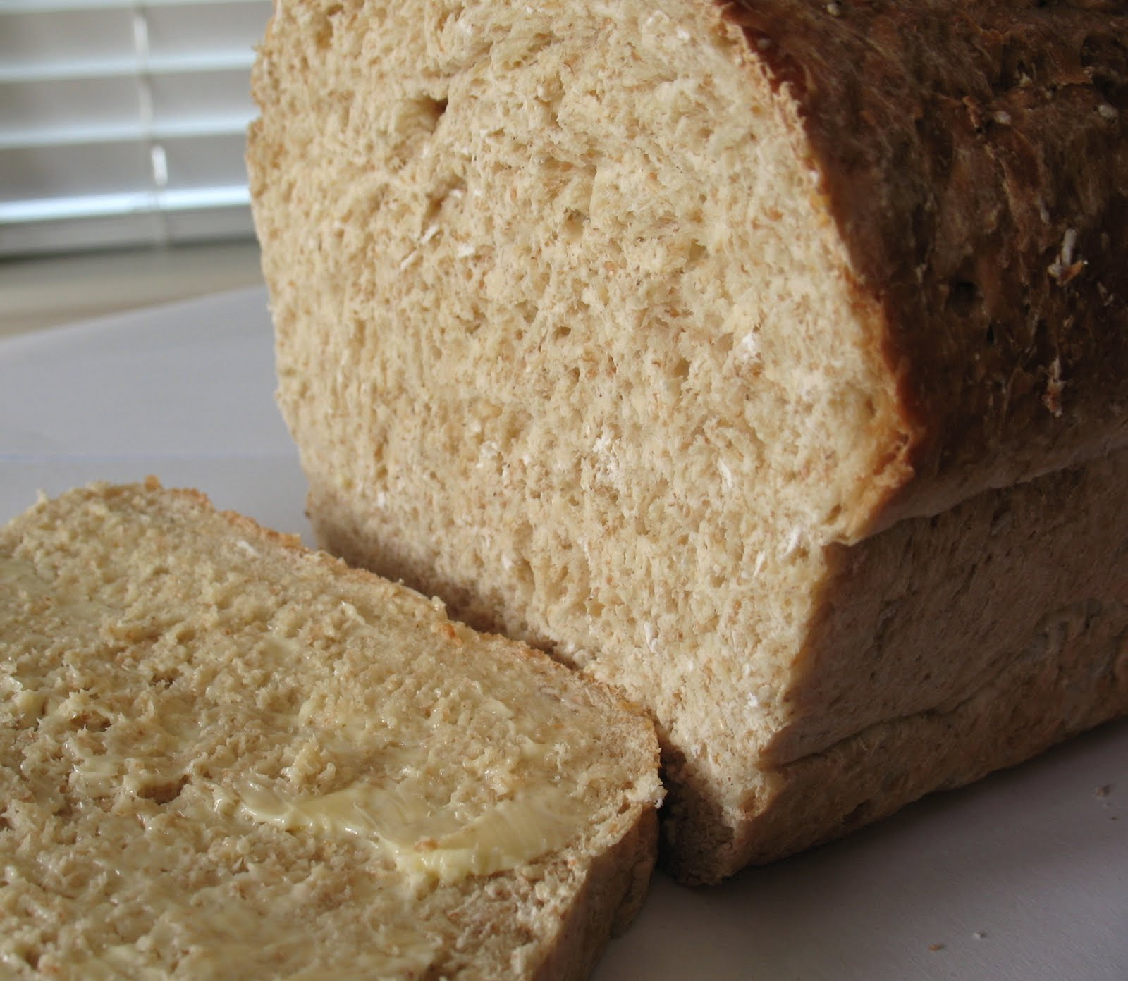 Whole Wheat Maple Oatmeal Bread ~ Chasing Tomatoes