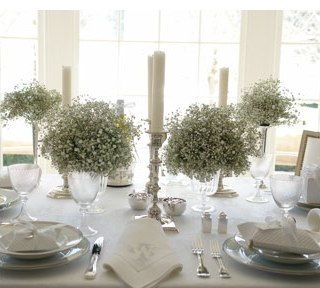 wedding centerpieces babys breath White.jpg