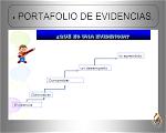EL PORTAFOLIO DE EVIDENCIAS