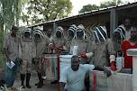 Remise d'équipements aux apiculteurs à Torem