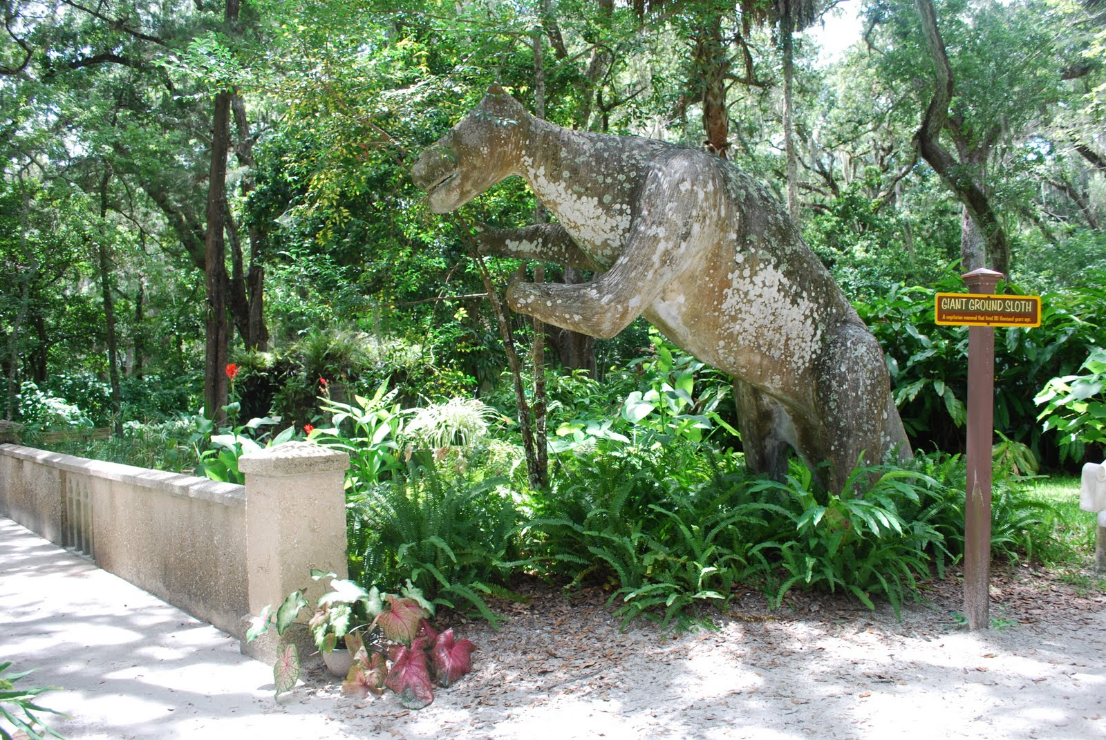 Florida daytripping on a dime sugar mill botanical gardens a free trip to the sugar mill and - Things to do in port orange fl ...