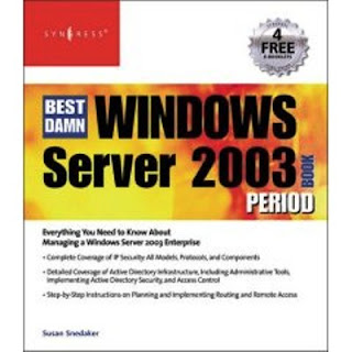 Download Free ebooks The Best Damn Windows Server 2003