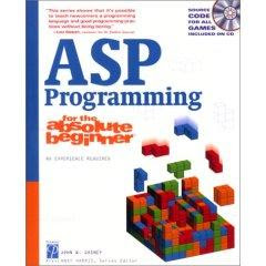 Download Free ebooks ASP Programming for the Absolute Beginner