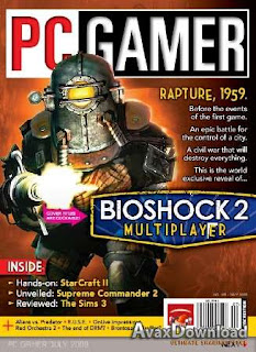 Download Free ebooks PC Gamer Magazine -July 2009