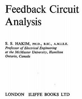 Download Free ebooks Feedback Circuit Analysis