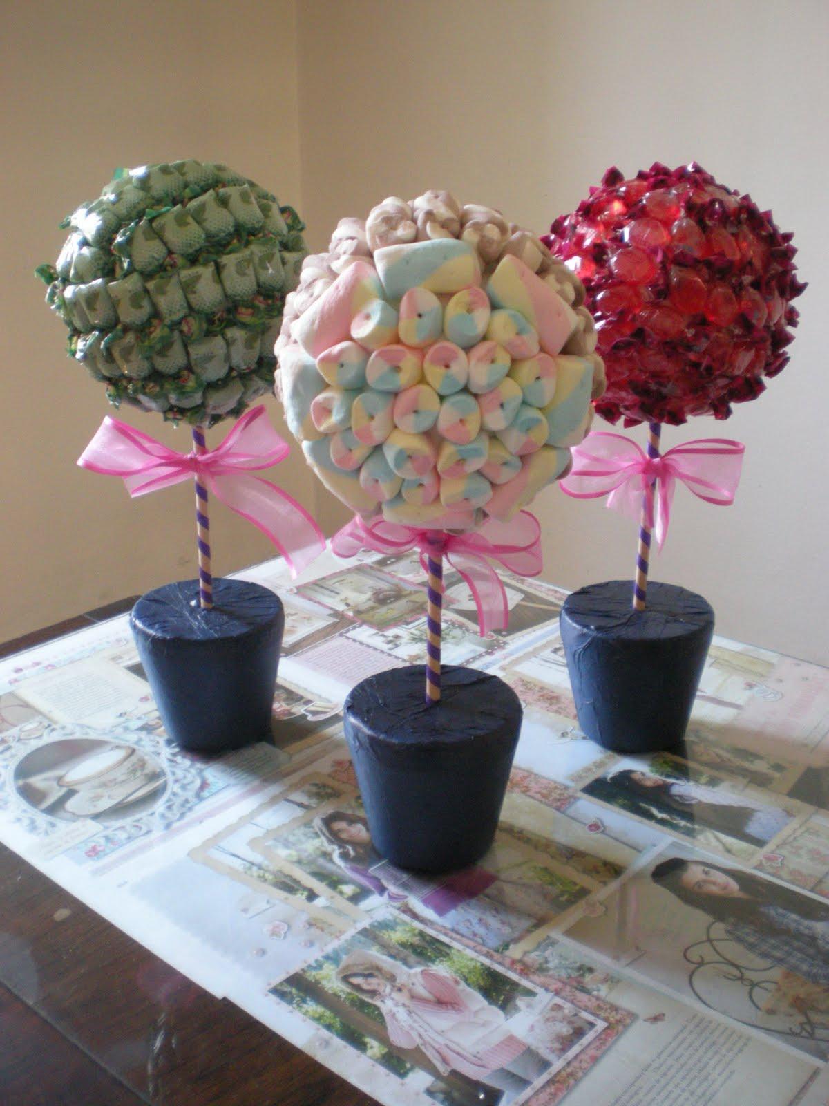 Chimemon cosas dulces topiarios de golosinas - Adornos para fotos gratis ...
