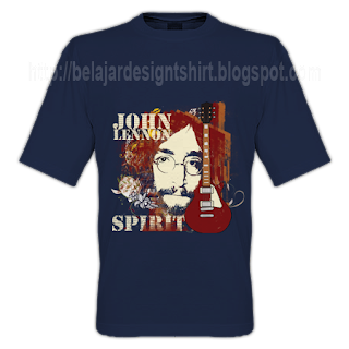Lennon spirit t-shirt design