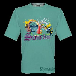 Belajar design t-shirt | Scene action t-shirt design