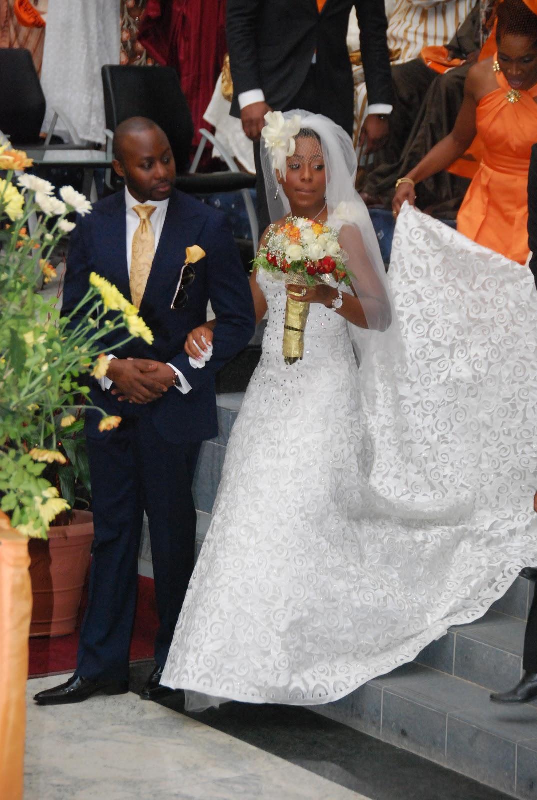 maestros media olumide amp dakores wedding ceremony