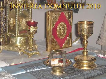 Învierea Domnului 2010, la biserica Sfinţii Împăraţi Constantin şi Elena din oraşul Edineţ