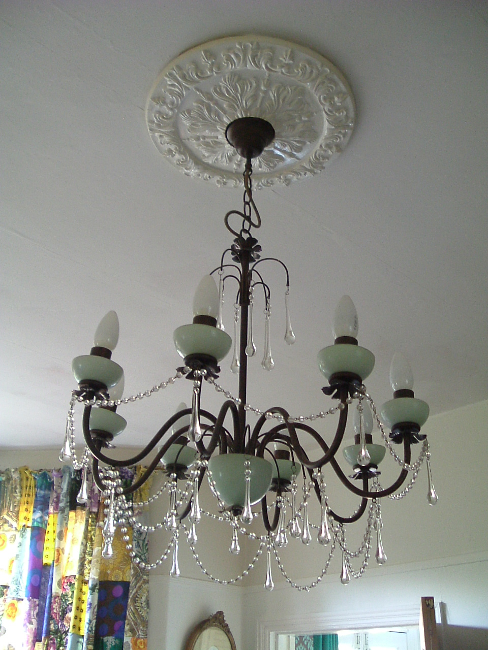 stained glass chandelier - Lighting - Shopping.com