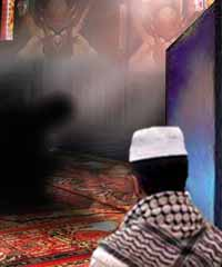 Kisah Ketika Iblis membentang sajadah Di masjid