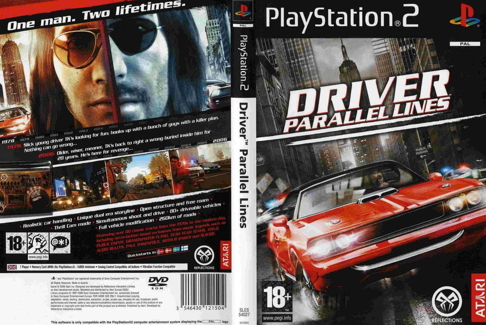 pc Playstation 2 Wii juego xbox driver paraline lines