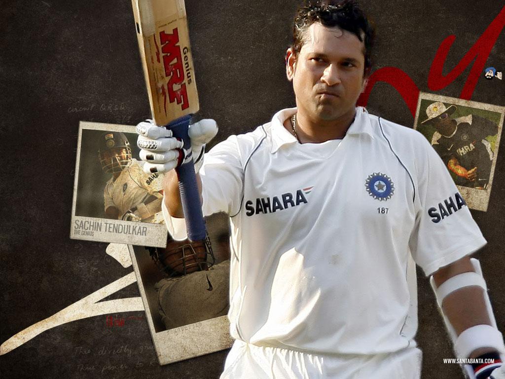 Fresh Wallpapers of Indian Cricketer Sachin Tendulkar