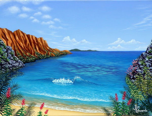 Hawaii 18 x 24