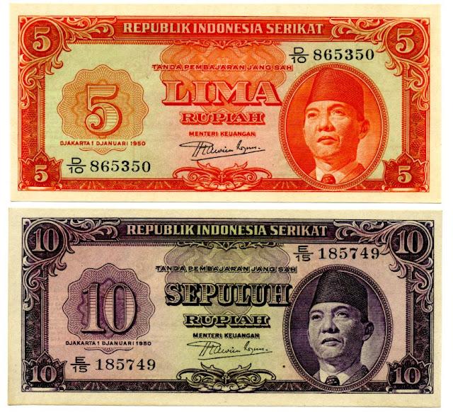 Sejarah Uang Rupiah Indonesia - KUMPULAN MASA SEJARAH