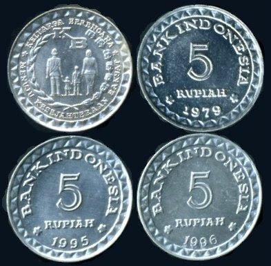 Uang Koin 5 Rupiah 1979
