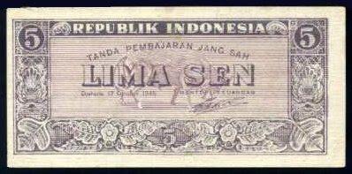 Kumpulan Uang Rupiah Indonesia Jaman Dulu