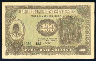 sejarah uang indonesia