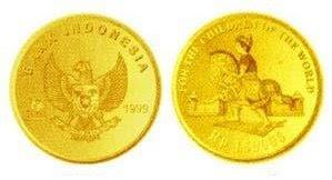 Uang logam Indonesia yang Mahal Harganya
