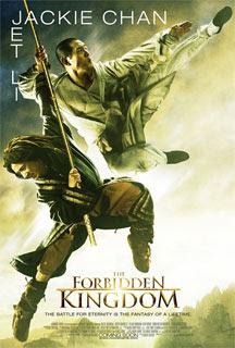 forbidden kingdom, jet li, jackie chan