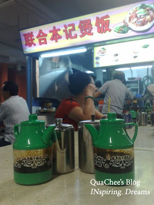claypot rice stall, chinatown