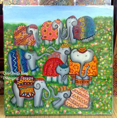 batik, batik painting