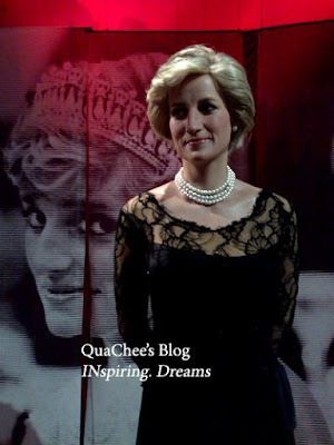 shanghai wax museum, princess diana