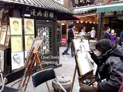 hangzhou, qinghefang road, artist